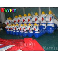 Wholesale Inflatable Pony Hop Ride Horse Ride track,airtight pony inflatable sport game KSP054 from china suppliers
