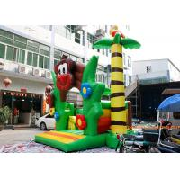 China PVC Tarpaulin Monkey Jumping Inflatable Bouncy Castle With CE and TUV on sale
