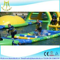 Wholesale Hansel high quality inflatable wrestling ring for kids water toy from china suppliers