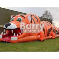 PVC Material Multi-Function Animal Themed Obstacle Course Games For Kids / Adults