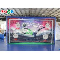 Wholesale Durable Inflatable Sports Games PVC Tarpaulin Outdoor Shooting Door from china suppliers