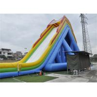 Wholesale Safety Outdoor Large Blow Up Water Slide For Giant Inflatable Games from china suppliers