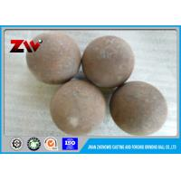 Wholesale High Chrome Forged steel grinding balls for mining / ball mill HRC 55-65 from china suppliers