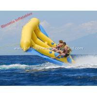 Wholesale Large Fun Water 2 Person Towable Inflatable Fly Fish Banana Boat from china suppliers