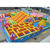 Buy cheap Giant Kids Fun Inflatable Jumping Castle Maze Jumping Bouncy Castle Lead Free from wholesalers