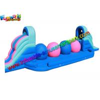 Wholesale Amusement Park Inflatable Sports Games Sport Wipe Out Ball Challenge With PVC from china suppliers