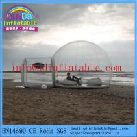 China Factory quality inflatable bubble camping tent inflatable camping tent on sale