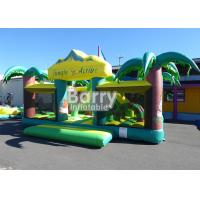 Wholesale Outdoor n Indoor PVC Material Equipment Toys Jungle Theme Big Toddler Inflatable Playground from china suppliers