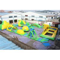 New Adults Lake Inflatable Water Park On Water, Open Sea Floating Water Obstacle