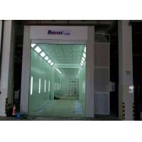 Wholesale 11 Meters Industrial Truck Spray Paint Booth Roller Door 11X5X5 M Internal Size from china suppliers