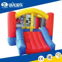 Buy cheap hot kid inflatable bounce with slide from wholesalers