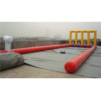 Kids Inflatable Bounce House Inflatable Football Game For Kindergarten