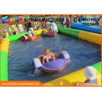 Wholesale 0.9mm PVC Tarpaulin Inflatable Blow Up Swimming Pools For Children from china suppliers