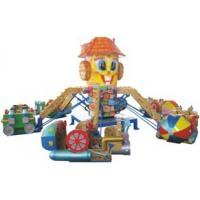 Buy cheap Funfair Equipment Family Fun Ride Play Around Container Loading 8.5m 40gp from wholesalers
