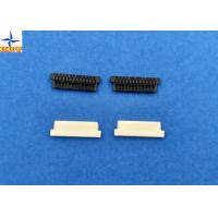 Home Appliances 1.25mm Pitch Wire To Board Power Connectors PA66 Black 02p To 30p