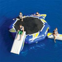Wholesale 0.9mm PVC Tarpaulin Round Inflatable Water Sports / Inflatable Aqua Jump Eclipse Water Park from china suppliers