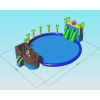 China Octopus Ocean Water Park Inflatable Pool Slide Commercial Grade Combo Games on sale