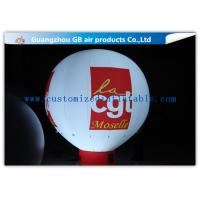 Wholesale Rental Inflatable Advertising Balloon With Bottom , Custom Inflatable Balloons With Light from china suppliers