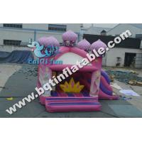 Quality Inflatable princess house combo,inflatable bouncy castle for sale