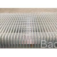 Building Square Wire Mesh Panels / Galvanized Iron Wire Weld Mesh Panels