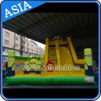 Wholesale Minions Commercial Inflatable Bouncer For Sale / Inflatable Minions Bouncer Slide from china suppliers