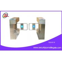 China Custom RFID access control Turnstile swing barrier gate with LED display on sale