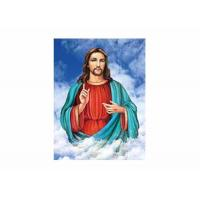Buy cheap PS OR MDF Frame 3D Lenticular Printing Service / Religion Picture from wholesalers