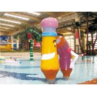 China spray park equipment, kids water play equipment, water slide equipment on sale