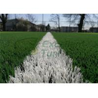 Wholesale Monofilament PE Artificial Grass Projects , Durable Upright Fake Sports Grass With Double Color from china suppliers