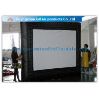 Wholesale Customized Inflatable Backyard Movie Screen 3 * 3m For Outdoor Events from china suppliers