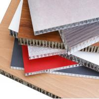 Wholesale Thermal Insulation Aluminum Honeycomb Panels Fire Resistance For Wall Cladding from china suppliers