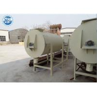 Wholesale Horizontal Putty Dry Mortar Plant , Various Output Carbon Steel Small Spiral Ribbon Mixer from china suppliers