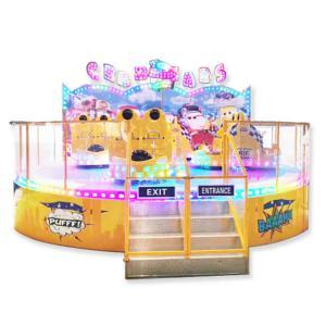 Wholesale Crazy Theme Park Rides Crazy Car Ride AC 380V/220V 50HZ Eco - Friendly from china suppliers