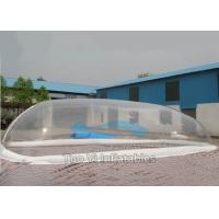 Wholesale Decoration Bubble Tent Night Transparent Inflatable Swimming Pool Cover from china suppliers