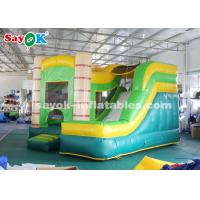 Quality 4*3.5*3.5m PVC Tarpauline Inflatable Bouncer Slide With Blower For Entertainment for sale