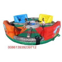 Wholesale adult outdoor inflatable games,popular inflatable hungry hippo chow down for sale from china suppliers