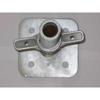 China Steel Adjustable Scaffold Screw Jack Base for Construction System on sale