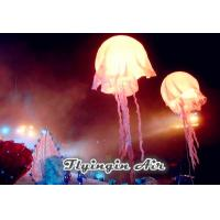 Wholesale White Inflatable Jellyfish with Led Light for Concert and Stage Decoration from china suppliers