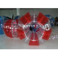 China Red Human Inflatable Bumper Bubble Ball Waterproof For Adults on sale