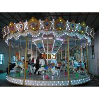 Wholesale Luxrious Playground Equipment Merry Go Round 380V For 40 Persons from china suppliers