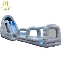 China Hansel   inflatable water park for kids inflatable bouncer combo slide on sale