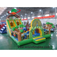 Wholesale 8 x 6M Inflatable Zoo Playground Inflatable Zoo Amusement Park Inflatable Playground For Sale from china suppliers