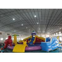 Wholesale Sports Equipment Inflatable Water Park , Amusement Inflatable Water Park Equipment from china suppliers
