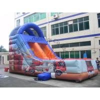 Wholesale Customized Outdoor Inflatable Slide / Commercial Fire Truck Inflatable Slide from china suppliers