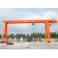 China 100 Ton A Frame Single Beam Gantry Crane With Strong Winch For Warehouse / Railway on sale