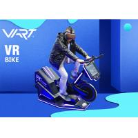 Virtual Reality Sports Equipment VR Bike Simulator For Indoor Gym Playground