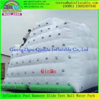 Wholesale Best Quality Low Price Enjoy Water Games Inflatable Iceberg Inflatable Floating Climb Wall from china suppliers