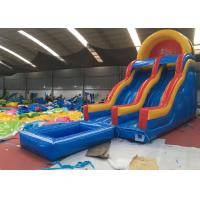 China Durable Kids Blow Up Water Slide / Eco - Friendly  Portable Inflatable Water Slides on sale