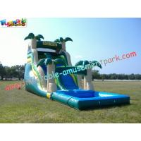 Wholesale Commercial Giant Outdoor Inflatable Water Slides Game for Adult, Kids Playing for fun from china suppliers