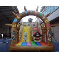 Wholesale Commerace quality inflatable jumping slide / inflatable slide rental pirate slide from china suppliers